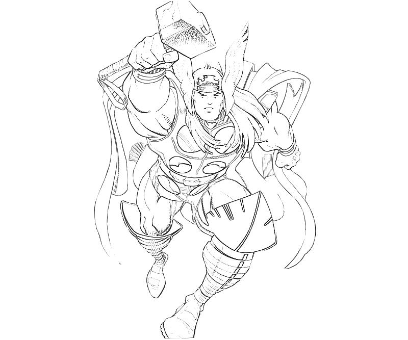 printable-marvel-vs-capcom-thor-coloring-coloring-pages