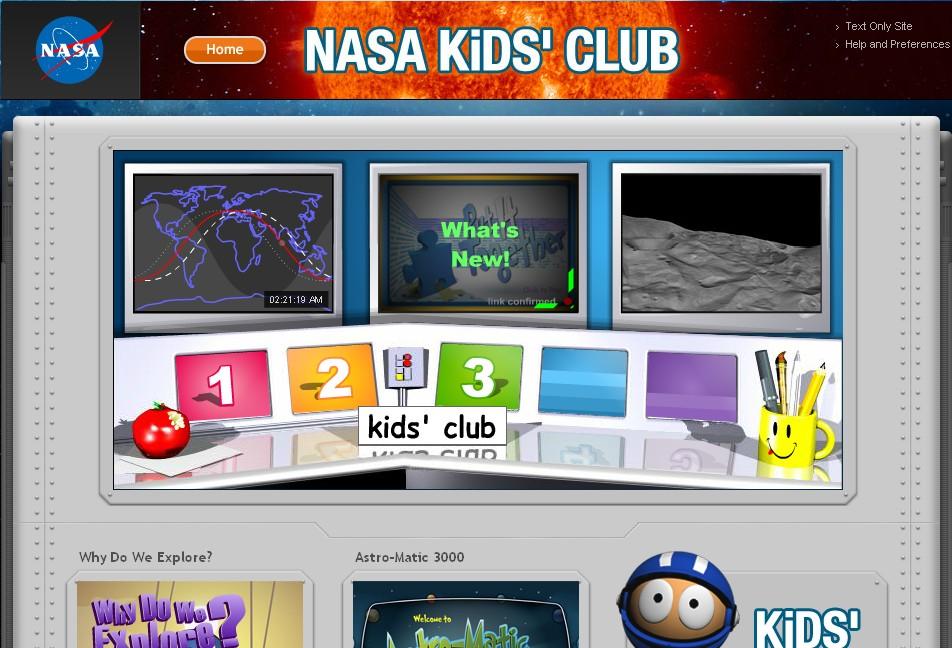 la nasa kids: