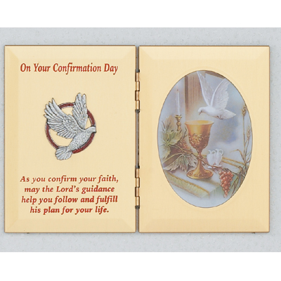 Confirmation photo plaque