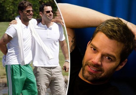 pop singer Ricky Martin shocked the world  Ricky married his boyfriend    Ricky Martin 2013 Boyfriend