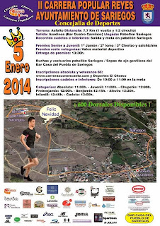 Inscripciones cross popular reyes sariegos