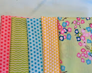 March mystery quilt fabrics