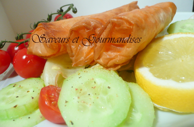 Cigares Surimi Fromage.