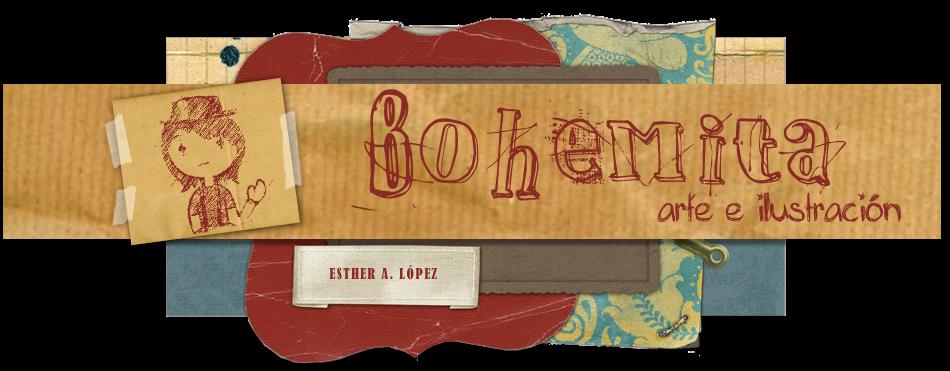 Bohemita, arte e ilustración.