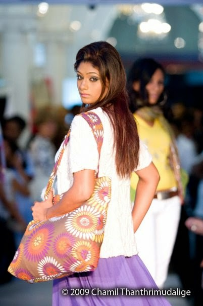 Nilu Senanayake on ramp