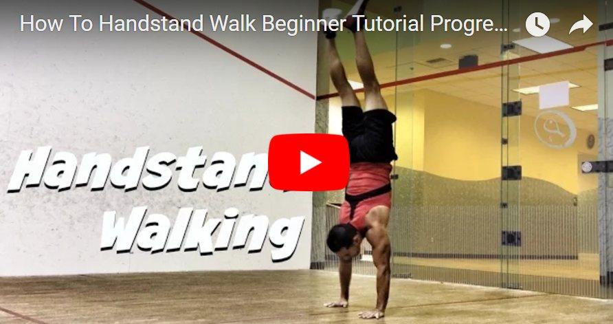 Kaip vaikščioti ant rankų video