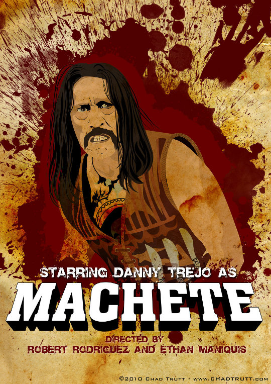 Machete Poster por chadtrutt