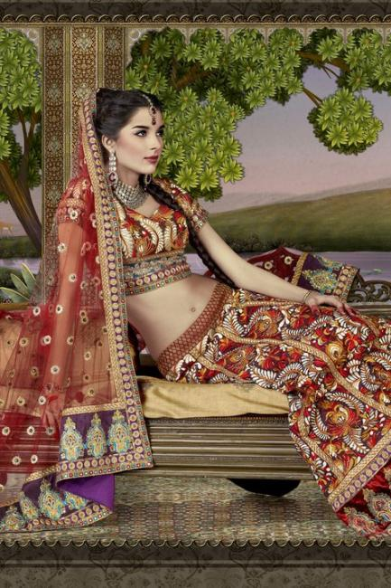 7 - Giselli Monteiro Latest Photoshoot In Indian Wedding Clothes