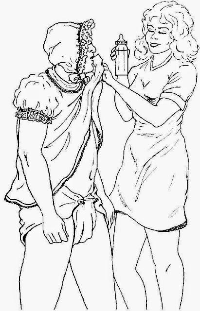 discipline bondage illustrations