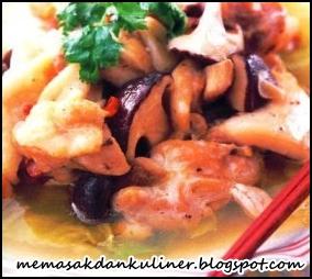 Resep Masakan | Ayam Masak Jamur