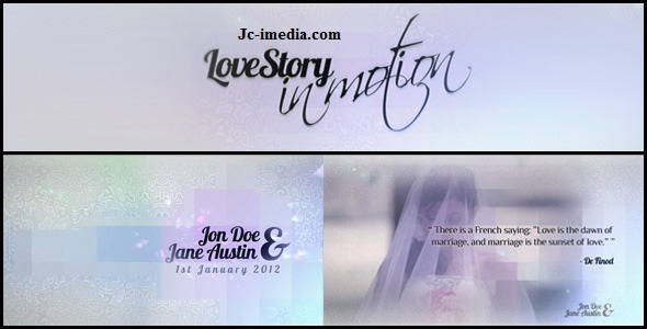 VideoHive Love Story - In Motion