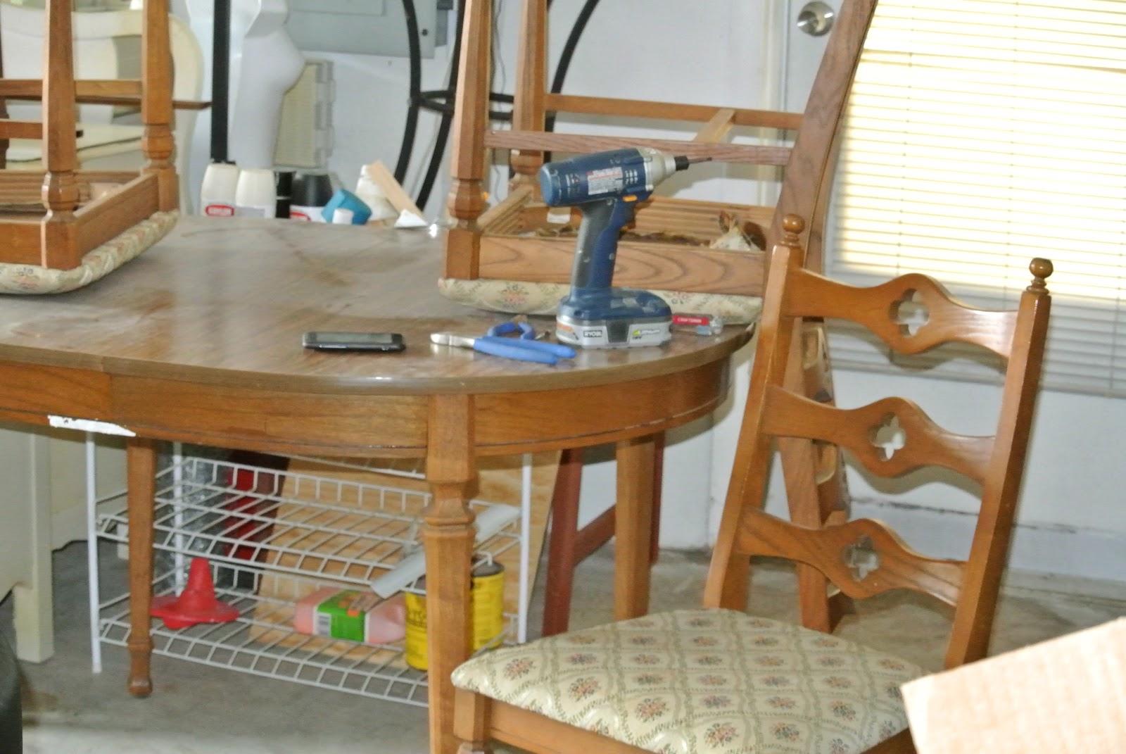 Dining room table redo ideas elegant design home for Redo table top ideas