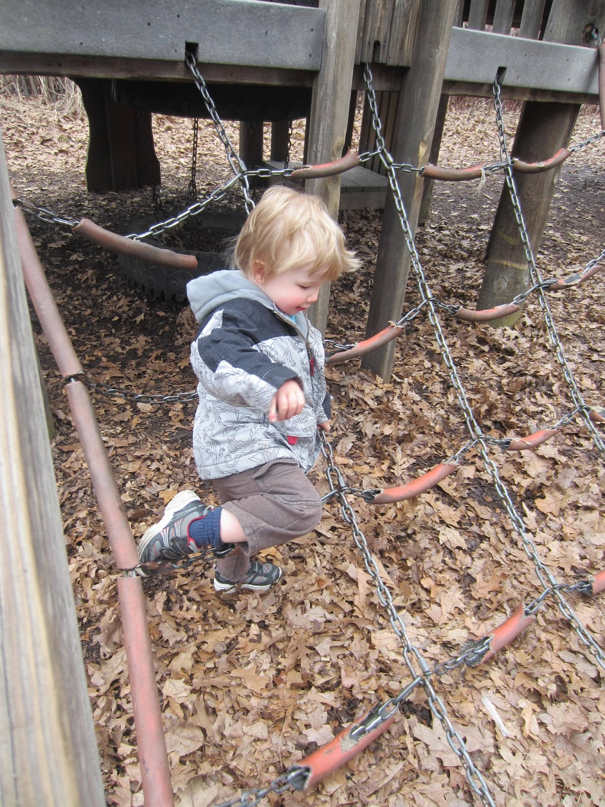high park Jamie Bell Adventure playground, Mike Holmes