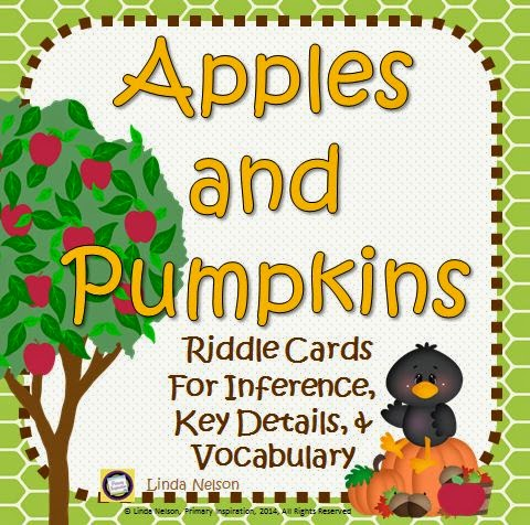 http://www.teacherspayteachers.com/Product/Inference-Key-Details-and-Vocabulary-Apples-and-Pumpkins-1454584
