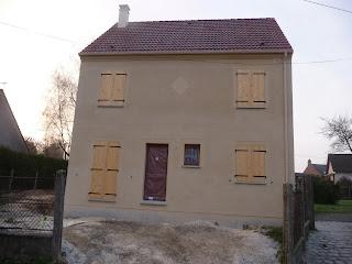 notre maison pierre l 39 enduit exterieur ton pierre 016 weber broutin. Black Bedroom Furniture Sets. Home Design Ideas