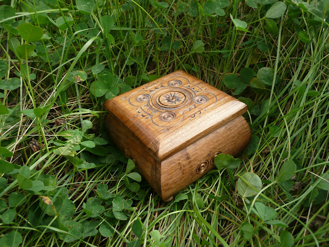 Wooden Jewelry Box, Made in West Ukraine