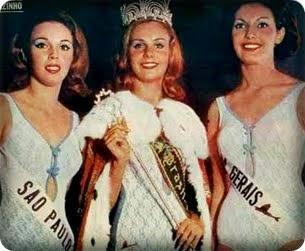 TOP TRES MISS BRASIL 1965
