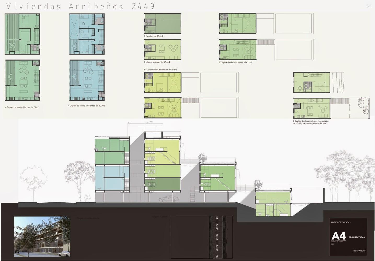 Apuntes revista digital de arquitectura proyecto for Viviendas para terrazas
