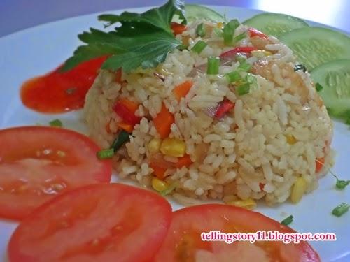 Nasi Goreng Ayam untuk Breakfast