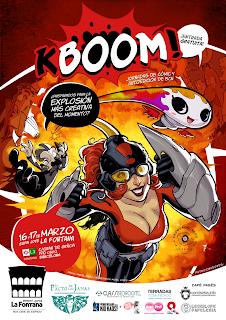 KBOOM! Jornadas Culturales de Cómic y Autoedición en Barcelona