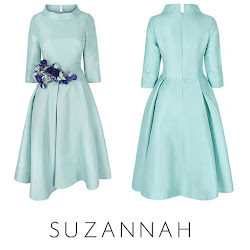 Sophie, Countess of Wessex Style - SUZANNAH Silk Dress SOPHIE HABSBURG Clutch Bag