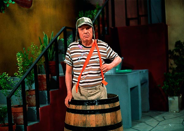 Chaves e o barril