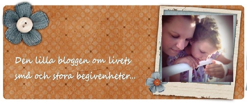 Den lilla bloggen om livets små och stora begivenheter...