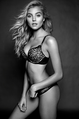 Rachel Hilbert sexy lingerie photoshoot for Galore Magazine June 2015