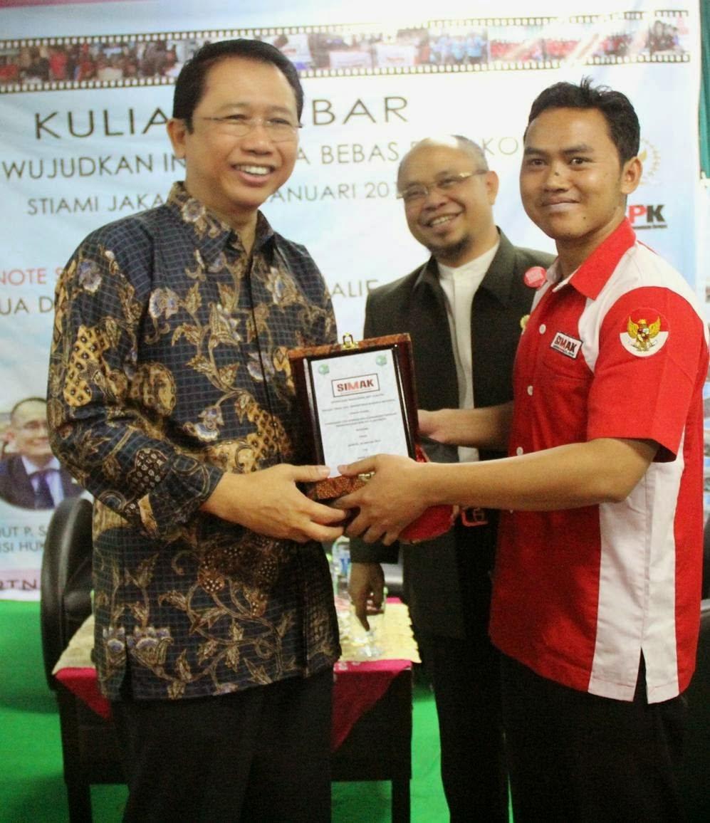 Arie One Bersama Ketua DPR RI