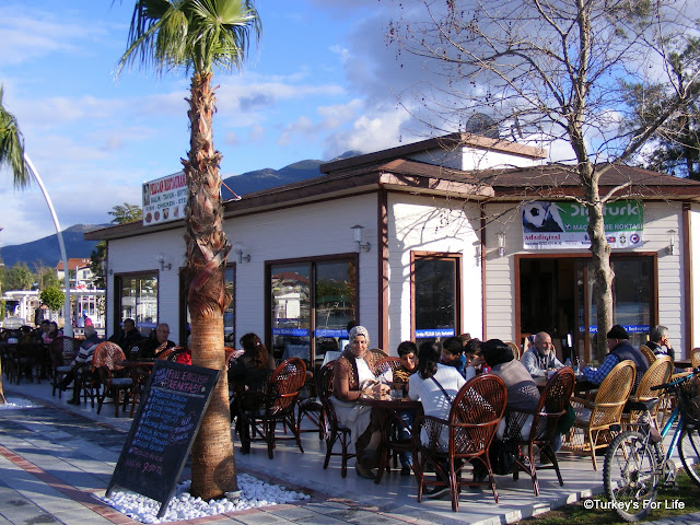 Pelican Cafe, Fethiye Harbour