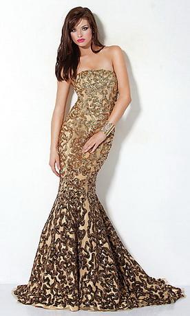 Фото платья из чешуи