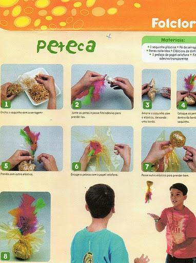 Super ESPAÇO EDUCAR: Brinquedos Folclóricos de sucata: ioiô, cama de  WP12
