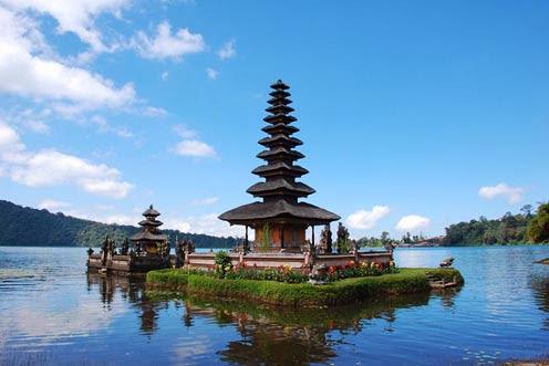Objek Wisata Panorama Alam Objek Wisata Bedugul di Bali