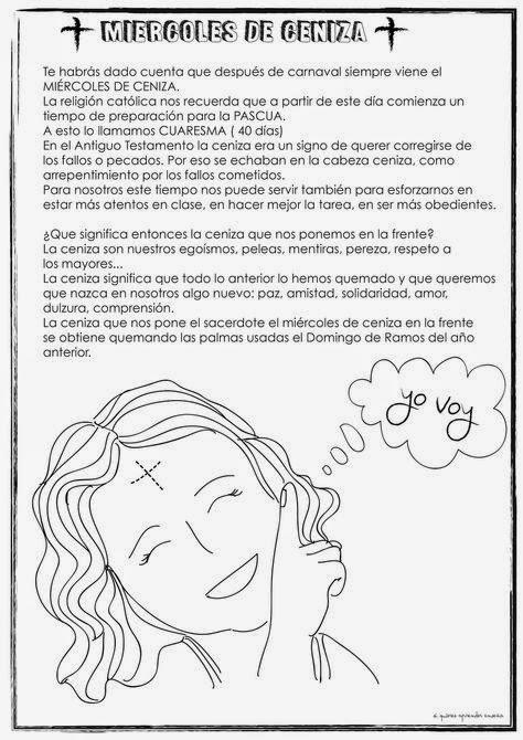 Primer blog TereReli: MIÉRCOLES DE CENIZA