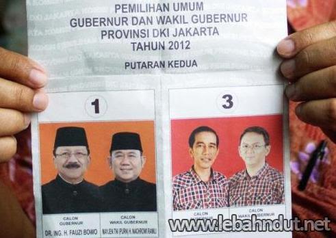 Hasil Quick Count Pilgub DKI Jakarta 2012 Putaran Kedua