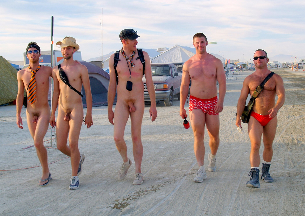 burning man nude