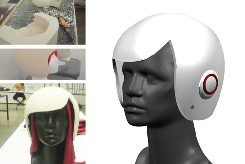 Luxy Vespa Helmet is Modern fashion helmet for Women Riders