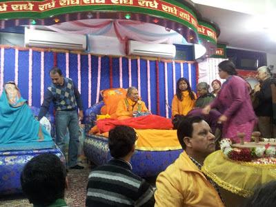 Shree Kripaluji Maharaj at Golok Dham, ashram, New Delhi