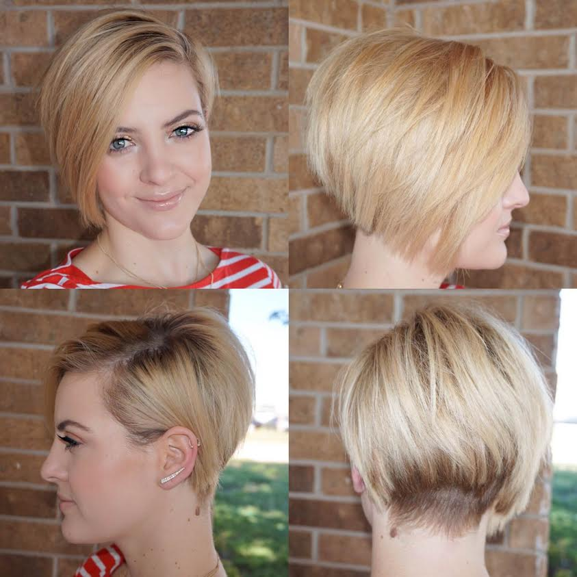 This hairstyle is great for growing a pixie undercut, but I would actually  wear this hairstyle even if I wasn\u0027t growing my hair!