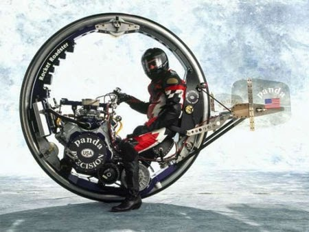 Gambar Motor Unik Futuristik Roda
