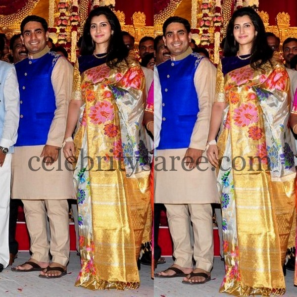 Brahmani at Ghattamaneni Bobby Wedding