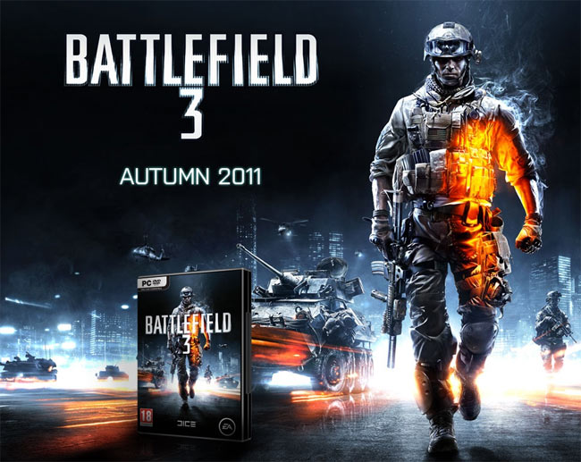 Battlefield 3 (2011) RELOADED Free PC Games Download