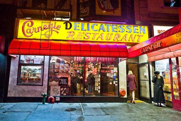 Restaurante Carnegie Deli em Nova York