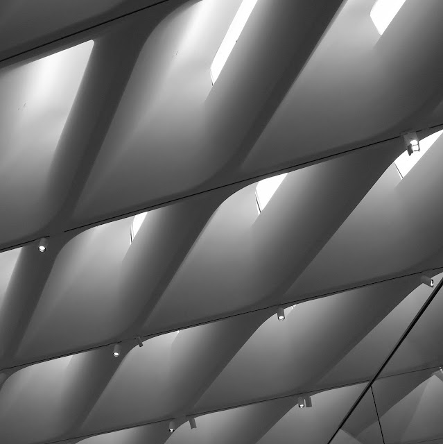 Ceiling of the Broad Museum Los Angeles