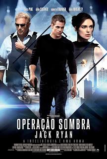 Filme Poster Operação Sombra - Jack Ryan TS XviD & RMVB Dublado