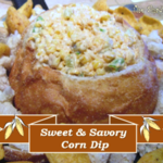 Sweet and Savory Corn Dip #appetizer #dip #recipe #corn #dip #vegetable