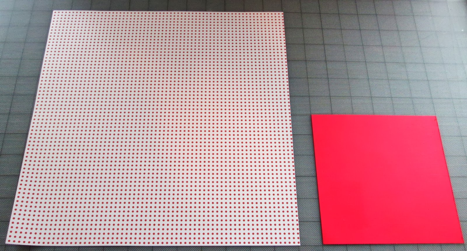 Red Dot Paper for Pinwheel