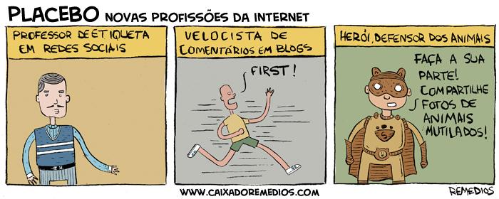 Novas profissões da internet