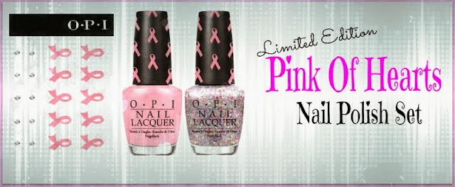 "OPI ""Pink Of Hearts"" Limited Edition Nail Polish Set 2013, by Barbies Beauty Bits"