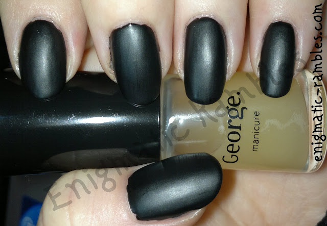 George-Asda-Matte-Top Coat-review-swatch